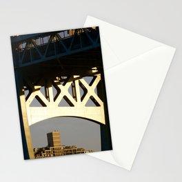 Sunset on the Robert F. Kennedy Bridge. New York. USA Stationery Cards
