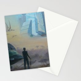 Memories of the future Stationery Cards