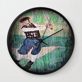 Vintage Golfer Wall Clock