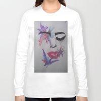 splatter Long Sleeve T-shirts featuring Splatter. by TheArtOfFaithAsylum