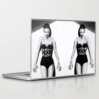 vogue Laptop & iPad Skins featuring Vogue  by Tania Santos