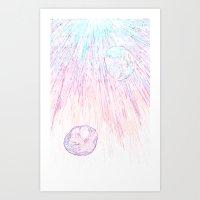 Jellyfish1 Art Print