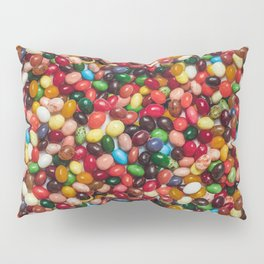 Gourmet Jelly Beans Candy Photo Pattern Pillow Sham