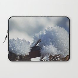 Ice Crystals Laptop Sleeve