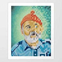 Tribute to Zissou Art Print