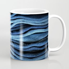 Layered Blue Coffee Mug