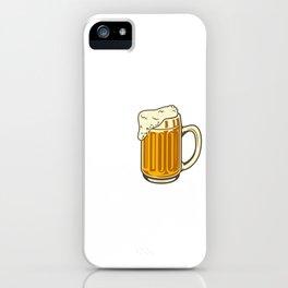Great Minds Drink Alike Beer Mug Beer Lover Gift iPhone Case