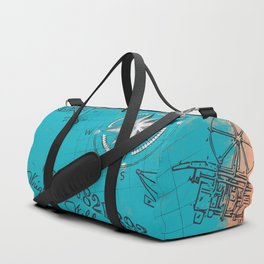Retro flying Duffle Bag