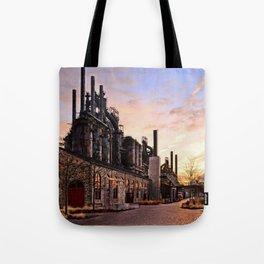 Industrial Landmark Tote Bag