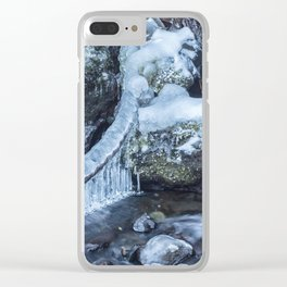 Ice and Water, No. 4 Clear iPhone Case