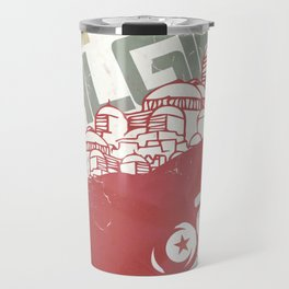 The Battle of Algiers, Gillo Pontecorvo, Italian film, alternative movie, wall art, Africa war Travel Mug