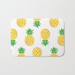 Beautiful Pineapple Pattern Bath Mat