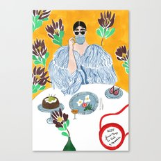 Olympia Le-tan Breakfast Canvas Print