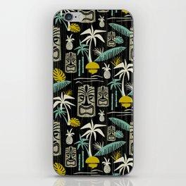 Island Tiki - Black iPhone Skin