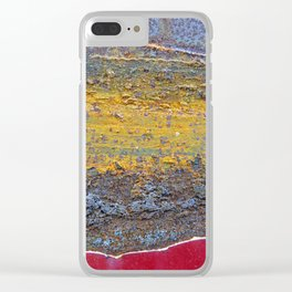 Colors of Rust 824 / ROSTart Clear iPhone Case