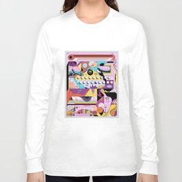 Daily stress and comfort Long Sleeve T-shirt