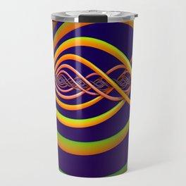 Helix Background Travel Mug