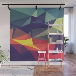 Flash Of Color Wall Mural