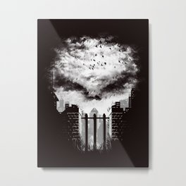 War Zone Metal Print