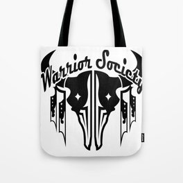 Warrior Society (Buffalo Black) Tote Bag