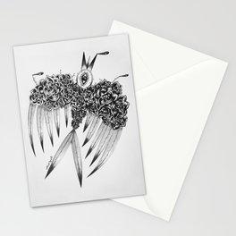 """ Spring"" (b&w) Stationery Cards"