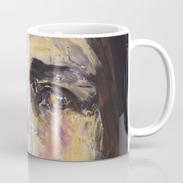 Christ with yellow eyes Coffee Mug