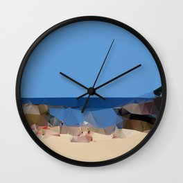 Clovelly Beach 2013 Wall Clock