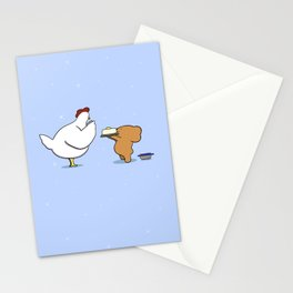 Mother Hen and Lemon Cake  Stationery Cards