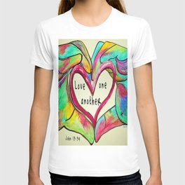 Love One Another John 13:34 T-shirt