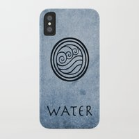 avatar the last airbender iPhone & iPod Cases featuring Avatar Last Airbender - Water by bdubzgear