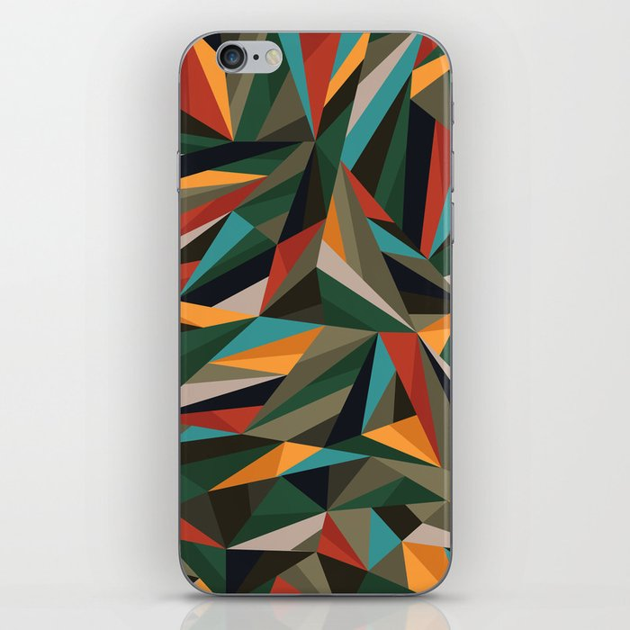 Sliced Fragments II iPhone Skin