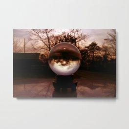 Crystal Ball  Metal Print