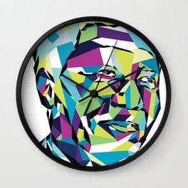 Legend of the fall – Mandela Wall Clock