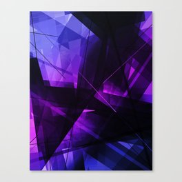 Vanquish - Geometric Abstract Art Canvas Print