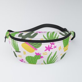 Cactus Pattern of Succulents Fanny Pack