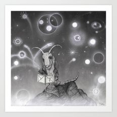 The Song of the Sea Goat Art Print
