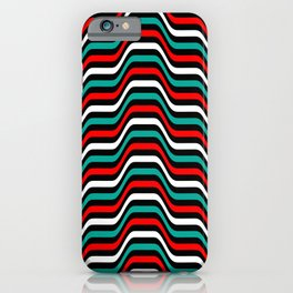 Color parametric pattern iPhone Case