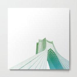 Green Freedom Metal Print