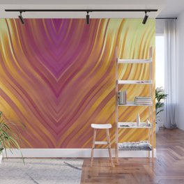 stripes wave pattern 3 lsi Wall Mural
