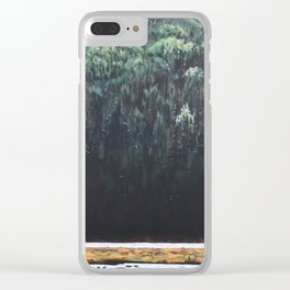 Along the Tim, Algonquin Park Clear iPhone Case