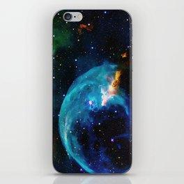 Blue Bubble iPhone Skin