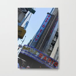 New York City Radio City Music Hall Metal Print