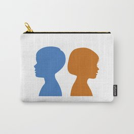 a Boy and a Girl Carry-All Pouch