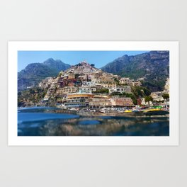 Picture perfect Possitano Art Print