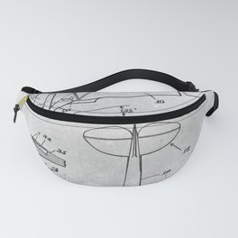 1949 High-Lift airplane Fanny Pack