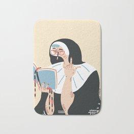 Sweet nun Bath Mat