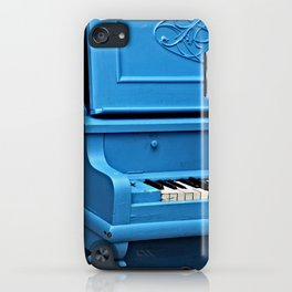 Piano Blues iPhone Case