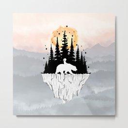 Bears Island Metal Print
