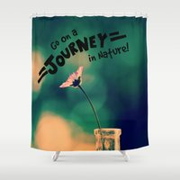 journey Shower Curtains featuring Journey by RDelean