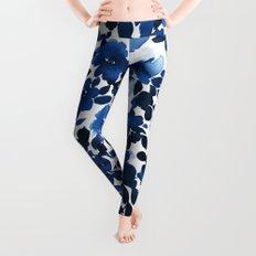 Sophia Floral Blue Leggings